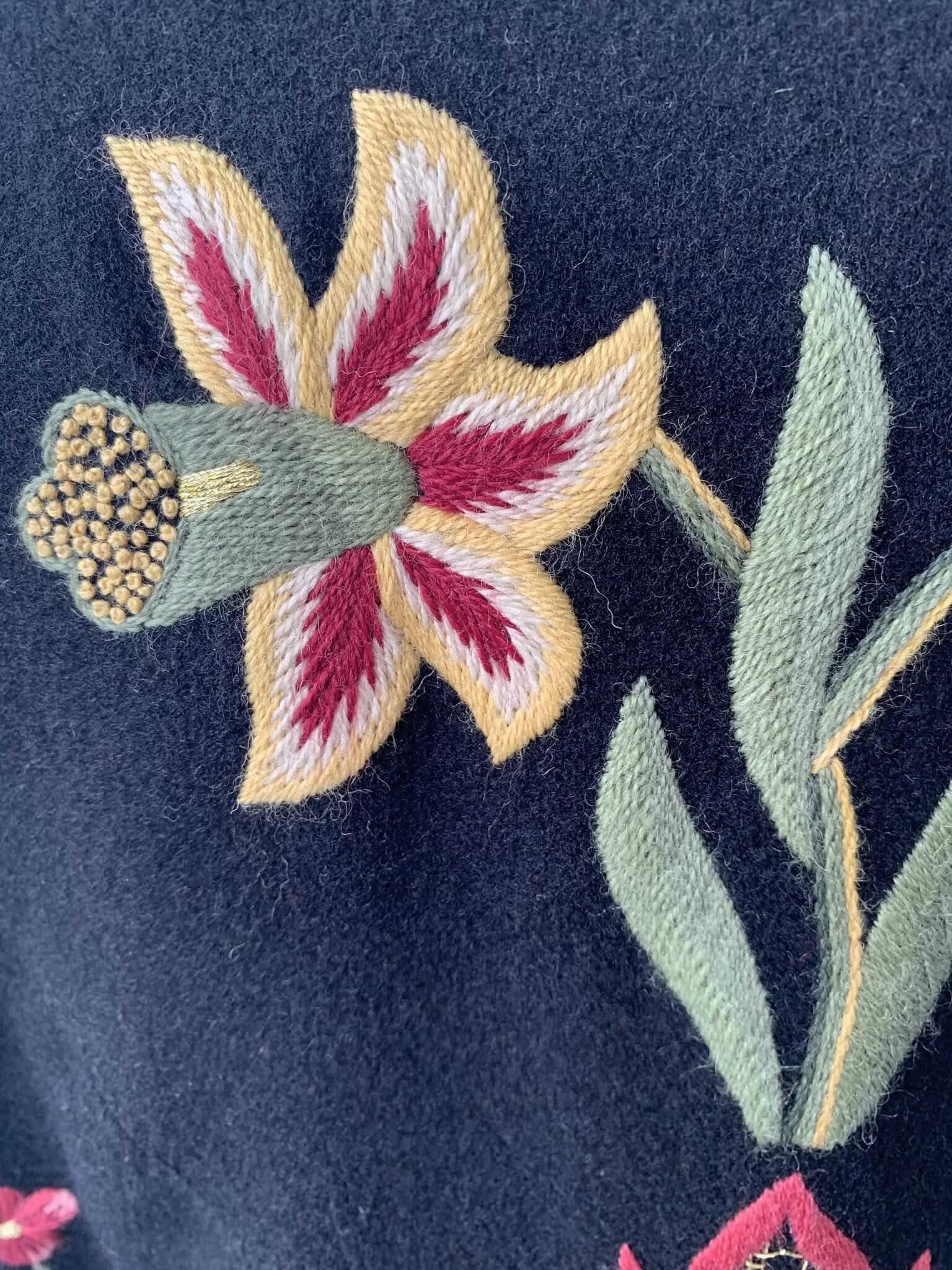 Grafferbunad Blomst 2